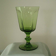 Lenox Jade Green Antique Water Goblets
