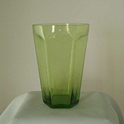 Lenox Jade Green Antique Flat Tumblers