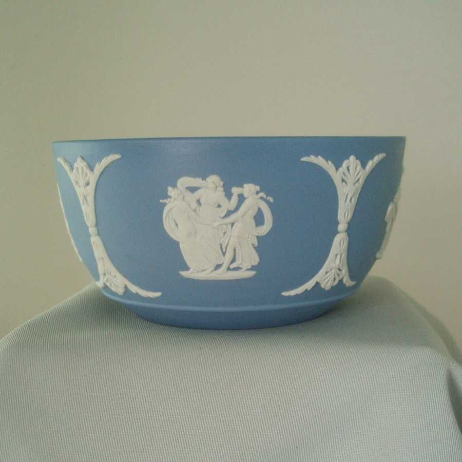 Wedgwood Light Blue Jasper Ware Bute Waste Bowl
