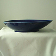 Rorstrand Blue Fire Oval Vegetable Bowl