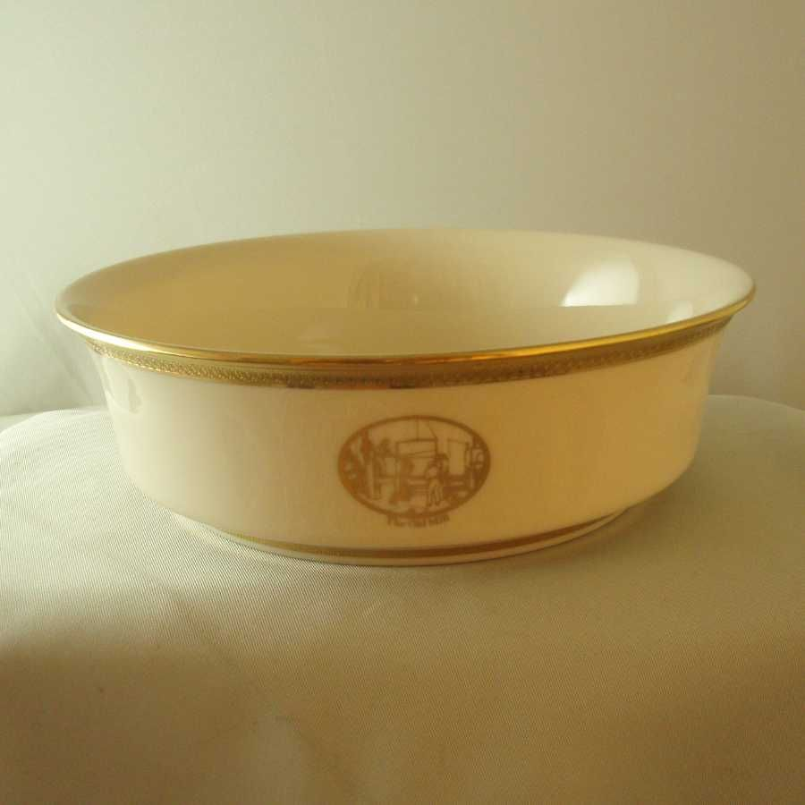 Lenox China Luken Steel Sesquicentennial Bowl