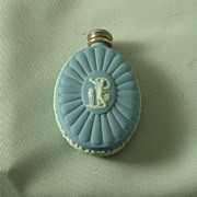 Wedgwood Light Blue Jasper Ware Scent Bottle