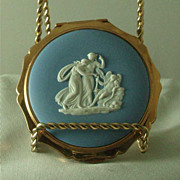 Wedgwood Light Blue Jasper Ware Compact
