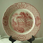 Royal Cauldon Phillips Exeter Plates