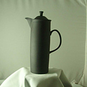 Wedgwood Black Basalt Design 63 Coffee Pot