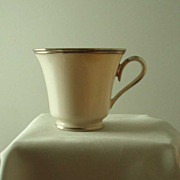 Lenox China Solitaire Cup