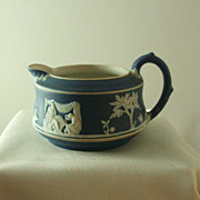 Wedgwood Cobalt Blue Jasper Ware St Louis Creamer