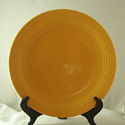 Homer Laughlin Vintage Fiesta Ware Chop Plate - Yellow