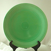 Homer Laughlin Vintage Fiesta Chop Plate - Light Green