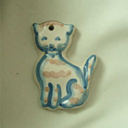 MA Hadley Cat Ornament