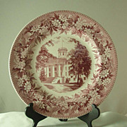 Wedgwood Gettysburg College Plates