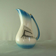 Vintage 1960s Air Force Academy Chapel Souvenir Pitcher