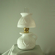 Imperial Milk Glass #9 Bundling Lamp