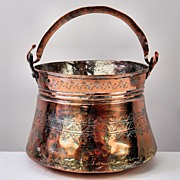Middle-Eastern Copper Bucket