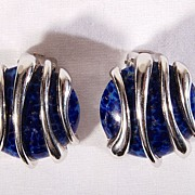 Pair of German Clip Earrings by Henkel & Grosse