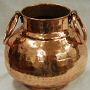 Traditional Egyptian Plain Copper cooking Pot
