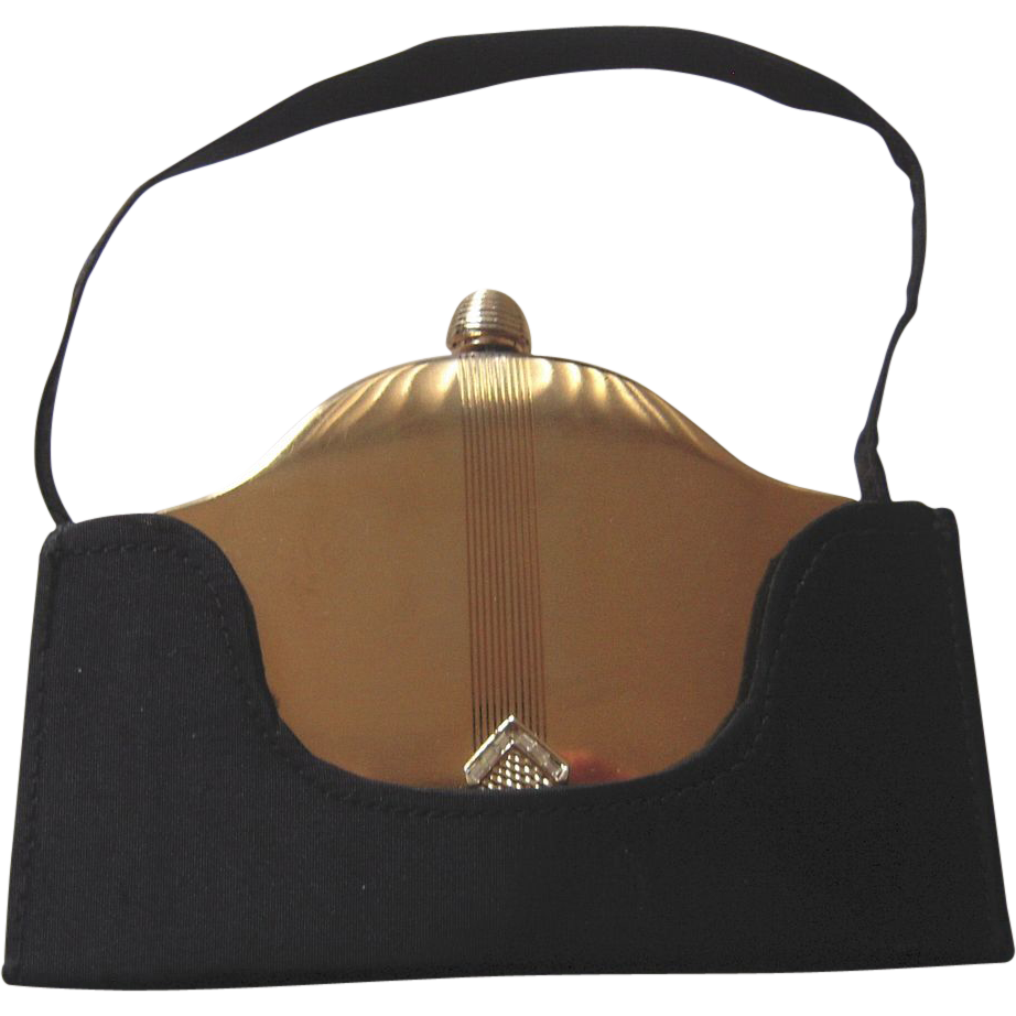 Vintage Volupte Compact Purse Carryall From Beca On Ruby Lane