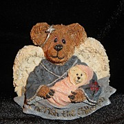 SALE Boyds Bear & Friends ~ �Cherish the Children� Pin ~ resin smiling angel holding new ...