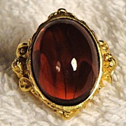 SALE �Gilded Age Collection� Ring ~ Size 6 ~ Avon's Elizabeth Taylor Signed Collection ~ gold-