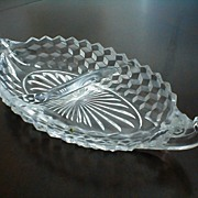 Fostoria American Large Divided Dish
