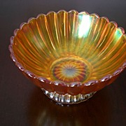 Stretched Glass Marigold Small Candy Bowl