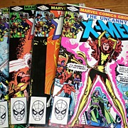 The Uncanny X-MEN 1982 Four Comic Books- Volume One