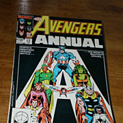 Marvel Comics The Avengers 1983 Annual Issue