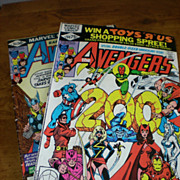 Marvel Comics The Avengers 1980