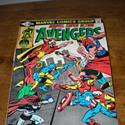 Marvel Comics The Avengers 1981