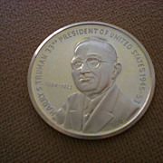 Harry S. Truman Commemorative Coin (1884-1972)