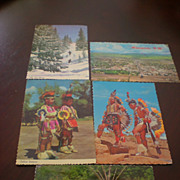 Postcards of Native Americans from New Mexico
