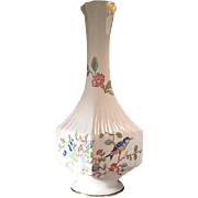 Aynsley Pembroke Square Specimen Vase Finest English Bone China