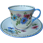 Wonderful Aynsley Bone China Cup and Saucer c1932