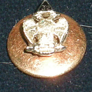 32 Degree Mason Masonic 18 Karat Gold Tie Tack