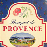 SOLD Vintage French Cookbook: Bouquet de Provence: 1st Ed 1991