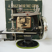 Antique Child's Singer Sewing Machine
