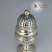 Antique Danish Pepper Shaker 830 Standard Silver 1833