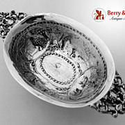 SALE Dutch 930 Silver Brandy Bowl 1880