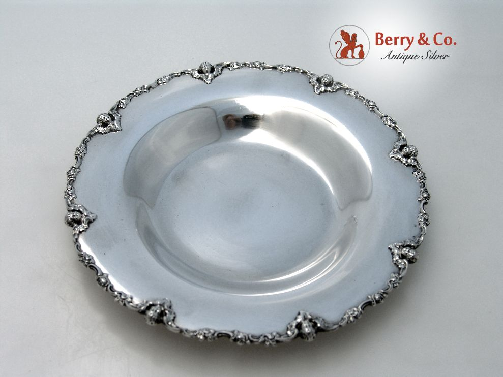 Cherub Baby Bowl Shreve And Company Sterling Silver 1910