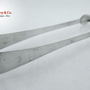 Coin Silver Sugar Tongs Federal 1790-1810