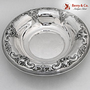 Grande Baroque Serving Bowl Wallace Sterling Silver 1941