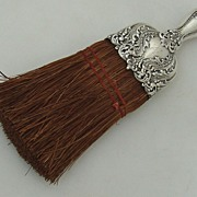 Scroll Foliate Floral Whisk Broom Alvin Sterling 1900