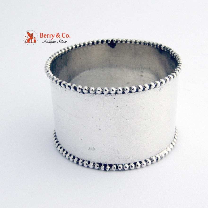 sterling silver napkin ring from berrycom on ruby