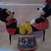 See Saw Mickey and Minnie 1985 Musical
