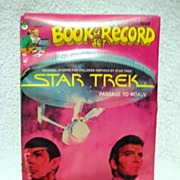 Star Trek 1979 Book & Record