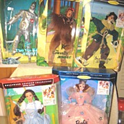 Barbie & Ken 5 WIZARD of OZ 1995 Mattel Dolls NIB