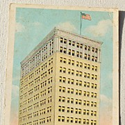 SALE Vintage Postcard Louisiana National Bank Baton Rouge