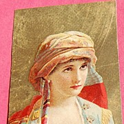 Victorian Color Lithograph Trade Card Dr. Thomas' Eclectric Oil