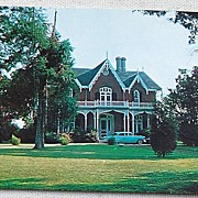 SALE 1964 Postcard Cedarhurst Holly Spring Mississippi