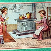 REDUCED Antique Diamond Dyes Trade Card